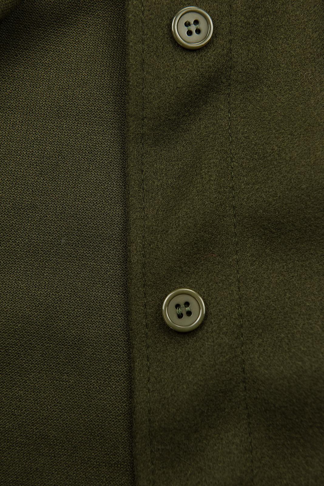 Khaki ľahký plášť