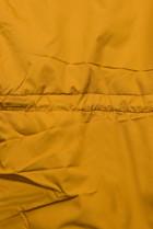 Horčicovožltá prešívaná ľahká bunda