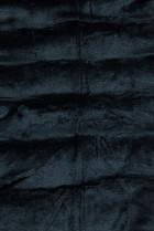 Prešívaná prechodná bunda tmavomodrá