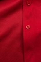 Červený ľahký plášť