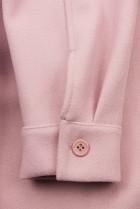 Svetloružový ľahký plášť