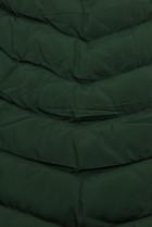 Tmavozelená bunda na obdobie jeseň/zima