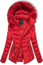 Červená bunda na obdobie jeseň/zima