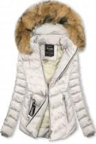 Biela bunda na obdobie jeseň/zima