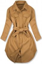 Hnedý ľahký plášť