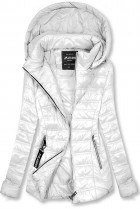 Biela ľahká prechodná bunda